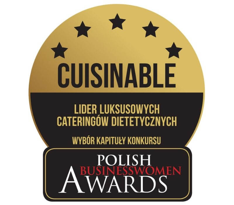 Cuisinable - laureat w konkursie Polish Business Women Awards - luksusowy catering dietetyczny