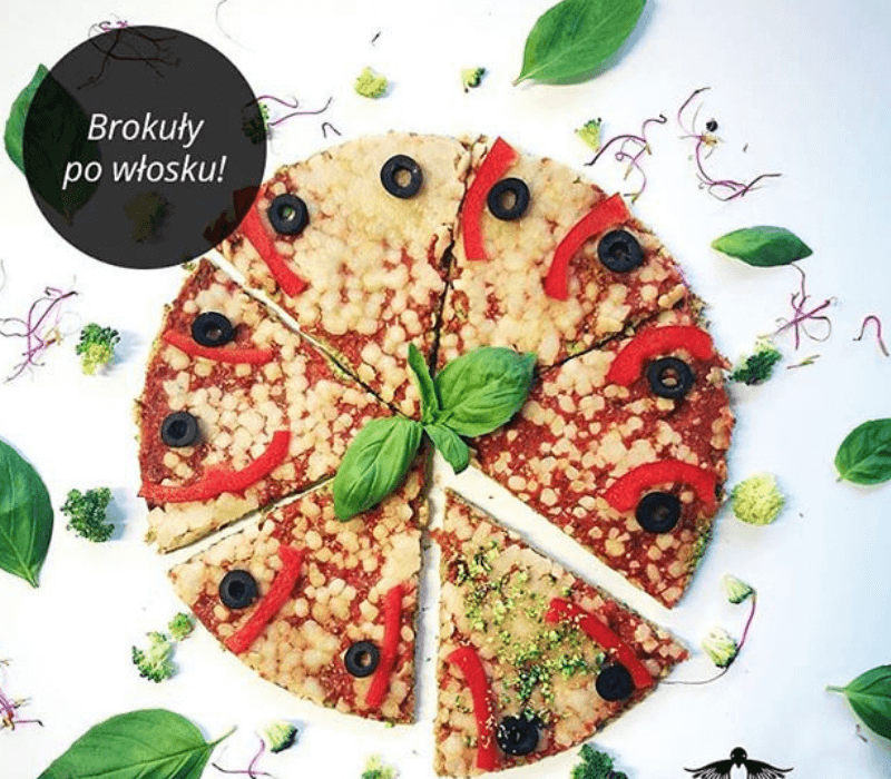 Kukuła - fit pizza brokułowa