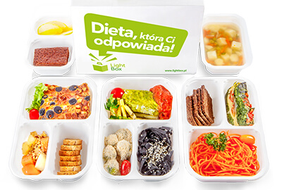 Catering LightBox - dieta Vege+Fish