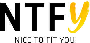 NTFY Nice To Fit You - logo